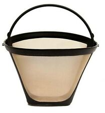 Medelco #4 (8-10 cup) Cone Shape Permanent Coffee Filter