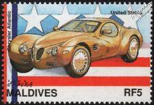 1995 CHRYSLER ATLANTIC Mint Automobile Retro Concept Car Stamp (1997 Maldives)
