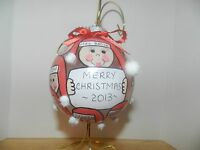Teacher and Entire Class Handpainted Personalized Christmas Ornament