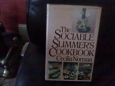 The Sociable Slimmer's Cookbook-Cecilia Norman Hardback English Cookery BCA 1981