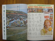 1962 NEW  MEXICO College Football Program(JFK Article/BILL WEEKS/JIM  CROMARTIE)