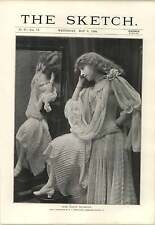 1894 Miss Katie Seymour Thoughtful Leaning Pose Anarchists Farnara Polti