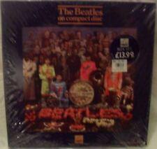 Beatles, the sgt. pepper's solitaire Hearts Club Band HMV BOX-set CD nouveau OVP sealed