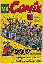 MV COMIX 1969 Nr. 21 (1-) sehr schöner ZUSTAND Mickyvision mit Superman Asterix