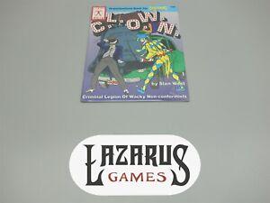 Hero Games RPG: Champions - C.L.O.W.N. #46 (Iron Crown)