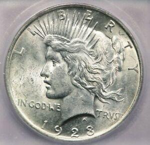 1923-P 1923 Peace Dollar $1 ICG MS61