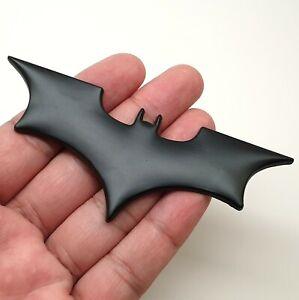 1x Batman Bat Black Car Body Badge 3D Metal Sticker Emblem Window Bonnet Boot