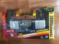 Transformers SOUNDWAVE & DOOMBOX Bumblebee Movie G1 Leader Class Target Excusive