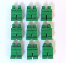 Lego 9 Leg  Legs Lower Parts For Minifigure Figure  Green