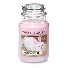 ☆☆BUNNY CAKE☆☆ LARGE YANKEE CANDLE JAR~ FREE SHIPPING☆☆EASTER SCENTED CANDLE