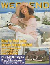 JOAN COLLINS - British Daily Mail Weekend Magazine August 17th 2002 - C#73