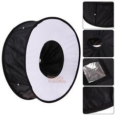 Foldable Speedlite Speedlight Macro Ring Flash Diffuser Softbox for Canon Nikon