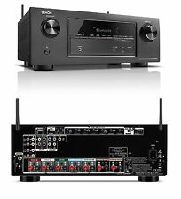 Denon AVR-X2100W Home Cinema 7.2 HD 3D 4k AV Network Receiver Amplifier 10xHDMI