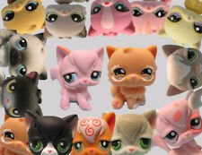 Littlest Pet Shop Lot 4 Random Angora Persian Cat Set and Gift Bag Exclusive