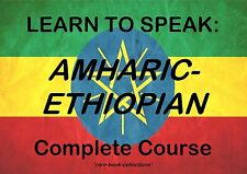 LEARN ETHIOPIAN - SPOKEN LANGUAGE COURSE - 21 HRS AUDIO MP3 & 2 BOOKS ON DVD!