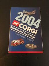 CORGI 2004 Showcase Collection Fighting Machines Catalog Booklet Checklist