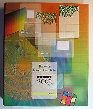 2005  ITALIA  Album completo  Tessere Filateliche anno 2005