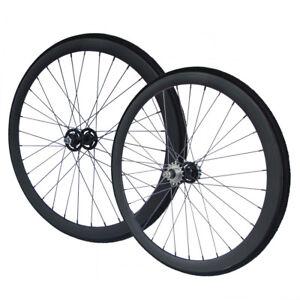 """RIDDOX Laufradsatz mit Thickslick-Reifen Singlespeed Fixie 28"""" SCHW MATT 40mm"""