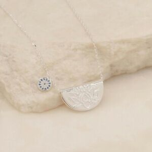 By Charlotte Sterling Silver Lucky Lotus Necklace