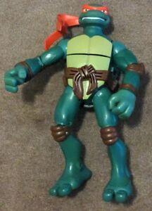 """TMNT Raphael 10"""" Figure Big Mouth Talkin Teenage Mutant Ninja Turtles Raph"""