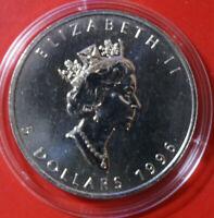 Kanada Canadian Maple Leaf 5 Dollars 1996 1 Oz/Unze KM# 187 F#2949