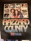 """Vintage Dukes Of Hazzard Poster, """"Hazzard County USA"""""""