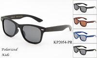 Polarized Kids Sunglasses Classic Retro Quality 1-6 Years Boys Girls UV 100%