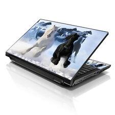 """13.3"""" 15.6"""" 16"""" Laptop Skin Sticker Notebook Decal Running Horses Winter M-19312"""
