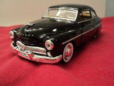 MotorMax 1949 Mercury Coupe  1/24 scale new no box black exterior
