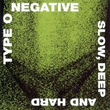 Type O Negative - Slow Deep and Hard [CD]