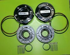 WARN 11690 4WD Manual Locking Hubs 1 Ton Dana 60 50 Ford Chevy Dodge Front Axle