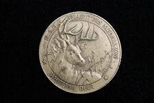 NORTH AMERICAN HUNTING CLUB MEDALLION-COIN-MEDAL,BIG GAME COLLECTORS SERIES,
