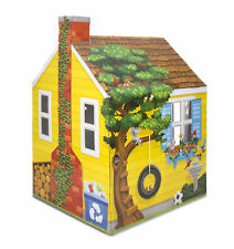 Melissa & Doug Cardboard Structure Cottage Playhouse