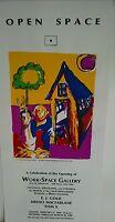 Art gallery Serigraph silk screen original poster EJ Gold Menlo MacFarlane Tom X
