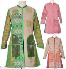 10 Jackets Vintage kantha Long Reversible Gudri Rally Coat Sherwani JK4