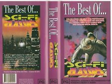 THE BEST OF SCI-FI CLASSICS INTRO BY WILLIAM SHATNER AS NEW RARE PAL VHS VIDEO