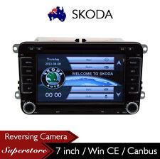 "7"" SKODA Car DVD GPS Navigation Stereo Radio with Canbus"