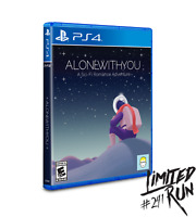 Alone With You + Trading Card PS4 Playstation 4 Limited Run #241 LRG Sealed
