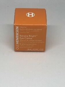 OLE HENRIKSEN | BANANA BRIGHT EYE CREME CREAM VITAMIN C COLLAGEN 0.1 OZ MINI NEW