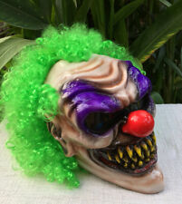 Monster Clown Scary Clown Custom Motorcycle Helmet Killer CLOWN Visor Pennywise