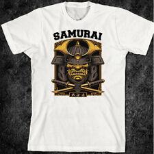 Samurai T-Shirt Bushido Japanese Dragon Tiger Warrior Katana Sword Ninja