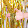 1M-3M Foil Fringe Tinsel Shimmer Curtain Door Wedding Birthday Party DECORATIONS