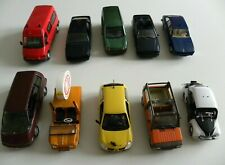 Lot de 5 Renault R11 R19 Fuego 1//43 Voiture Miniature Diecast Model Car LAQV9