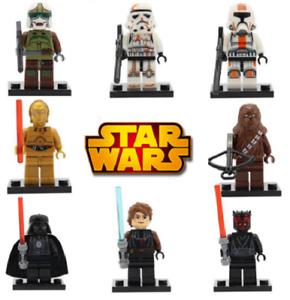 LEGO Star Wars 250+Minifigures Han Solo Mandalorian Darth Vader Ahsoka Chewbacca
