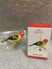 2015 HALLMARK ORNAMENT  WESTERN TANAGER BEAUTY OF BIRDS SERIES - 11TH IN SERIES