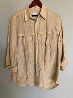 Pal Zileri Gruppo ForAll Men Dress Shirt Long Sleeve Made In Italy 15 3/4 40