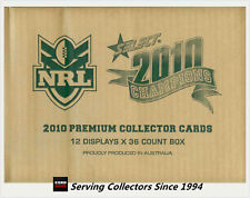 Select 2010 NRL Champions Trading Card Factory Case(12 Boxes+200 Game Case Card)