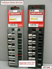 Craftsman 12 Piece 3/8 Drive SAE/MM Hex Bit Socket Set - ^*New^*