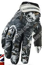 No Fear Monster Cycling Gloves Fishing Motorcycle Motocross Bike KTM Fox TLD Black Large