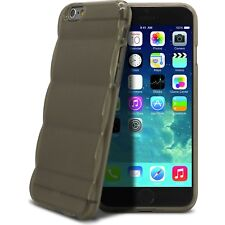 Coque Pour iPhone 6/6S (4.7) Gel Semi Rigide Air Bump Grip Fumé
